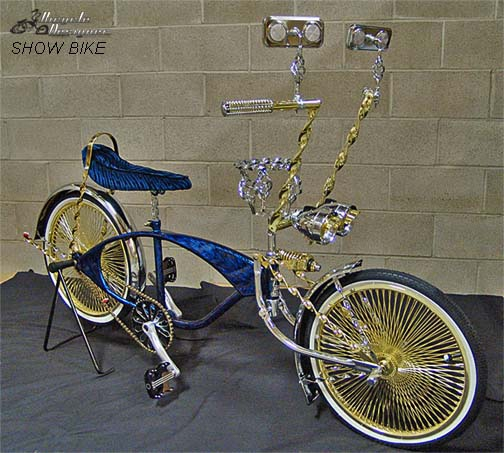 Lowrider Bicycle Frame