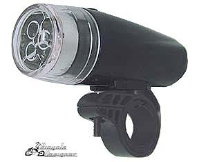 LED Headlight Triple Bulb BLACK
