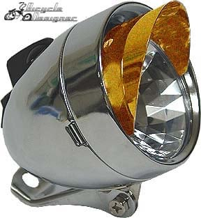 LED Bullet Light with Visor COPPER