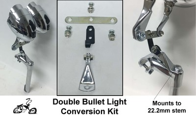 Double Bullet Light Conversion Kit