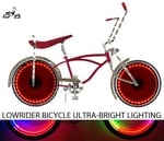 Lowrider Bike Ultra Bright Multi Color Wheel Light Kit