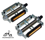 "1/2"" Bicycle Pedals Steel Grip (pair)"