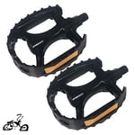 "1/2"" Cruiser Grip Pedals ALL BLACK (pair)"