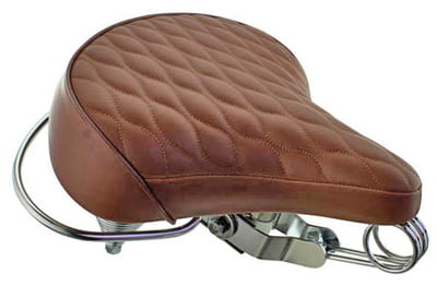 Cruiser Bicycle Saddle Diamond Brown