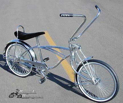 Lowrider Bicycle Sissybar