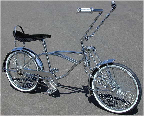 Lowrider Bike Stem For Twisted Handlebars