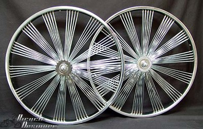 "26"" 140 Spoke Fan Wheel Set CFFW"