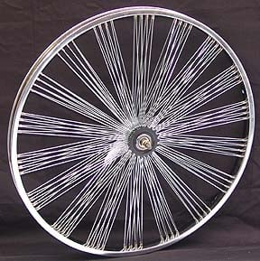 "20"" 140 Fan Coaster Wheel - CHROME"