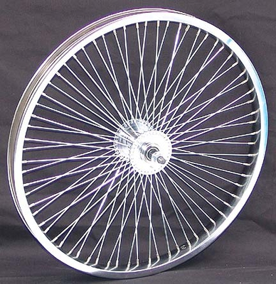 "20"" 68 Spoke Front Wheel CHROME"