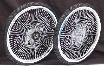 "20"" CHROME 140 Coaster Wheel Kit - WWT"