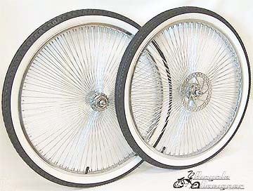 "26"" 140 Spoke Disc and Free Wheel Kit"