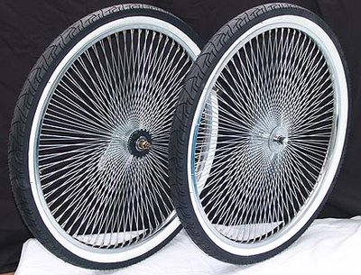 "26"" 140 Spoke Coaster Foot Brake Wheel Kit"