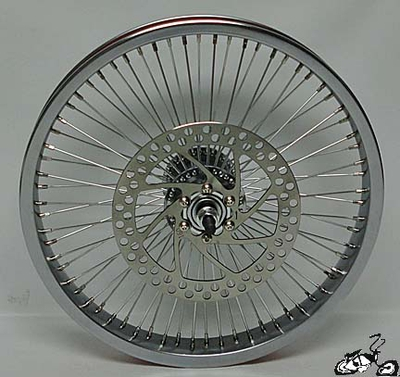 "Front Disc Brake Wheel 16"" 68 Spoke"