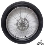 "20"" 36 Spoke Disc Brake Wheel with 3"" Tire"