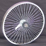 "20"" 68 Spoke Coaster Wheel CHROME"