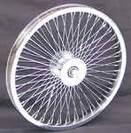 "16"" 52 Spoke Front Wheel CHROME"