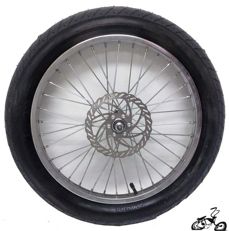 "20"" 36 Spoke Fat Tire Disc Brake Wheel"