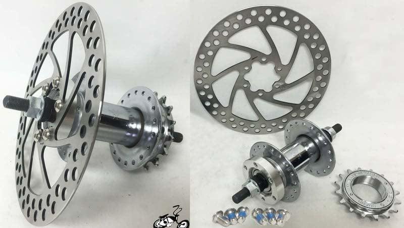 Build A Front And Rear 36 Spoke Disc Brake Wheel Set