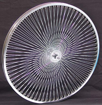 26 Quot 140 Spoke Front Bicycle Wheel
