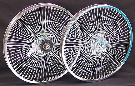 Lowrider Bicycle Wheel Set