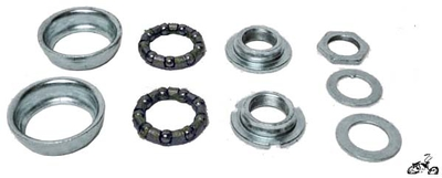 Bottom Bracket for 1-Piece Crank CHROME