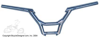 "9"" high x 28"" Mighty-bar CHROME"