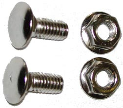 Spirng Fork Bar Nuts (pair)