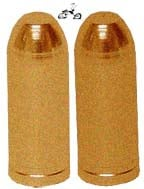Bullet Valve Cap Copper (pair)