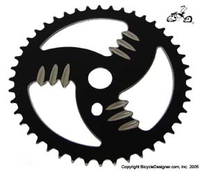 44 Tooth Sprocket Grinder BLACK