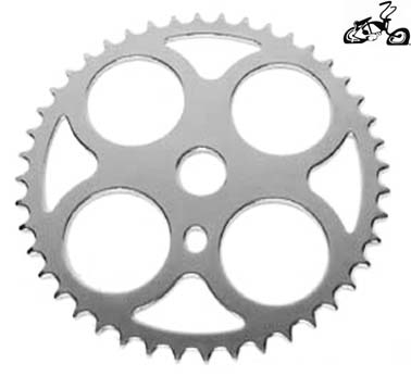 46 Tooth Four Circle Sprocket CHROME