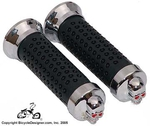 Deluxe Bicycle Grips SKULL