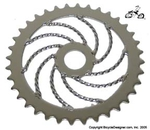36 Tooth Sprocket Lowrider Twist CHROME
