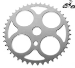 44 Tooth Sprocket Four Circle CHROME