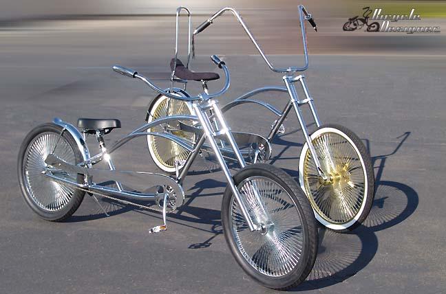 Stretch Chopper Bicycles