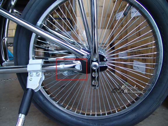 how to fix a back pedal brake