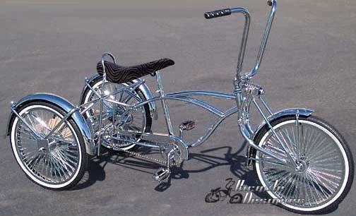 Tricycle Bike Parts : Lowrider trike parts