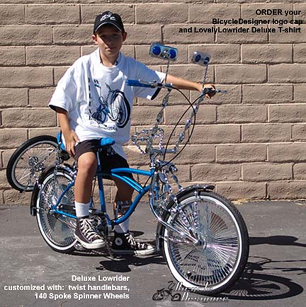 Bicycle Classic Old School Bell Lowrider Chopper Beach Cruiser Cycling Trike
