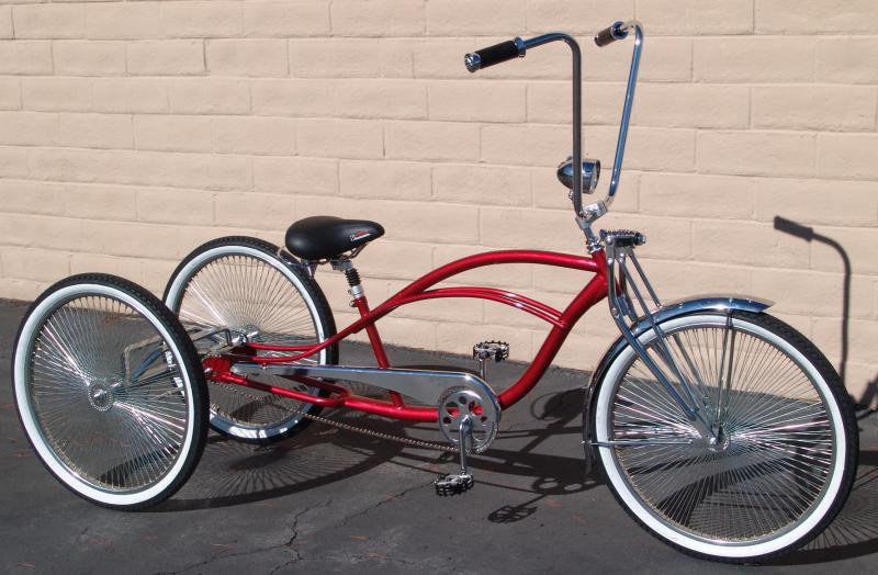 Custom Bicycles And Bike Parts For Designers Bicycle That Work With Lowrider Cruiser Chopper Trikes