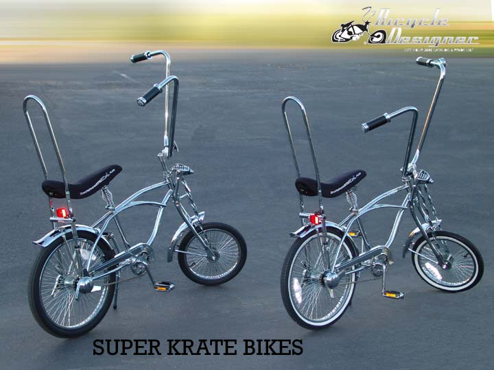 """20/"""" BLUE SPARKLE LOWRIDER KRATE BICYCLE BANANA SEAT FREE GRIPS INCLUDED"""