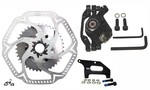 Motorized Rear Disc Brake Kit