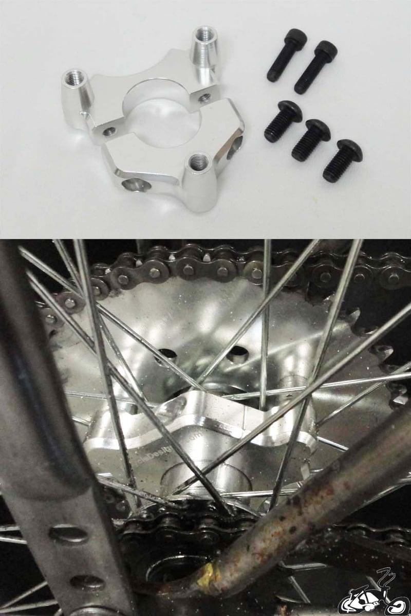 Motorized Coaster Wheel Adapter