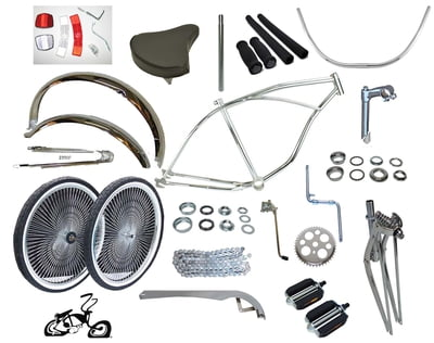 Chrome Cruiser Bike Kit 26""