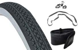 "26"" White Wall Tire Kit 992109"