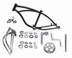 "20"" Lowrider Bike Frame Kit - BLACK"