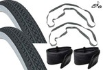 "24"" White Wall Tire Kit"