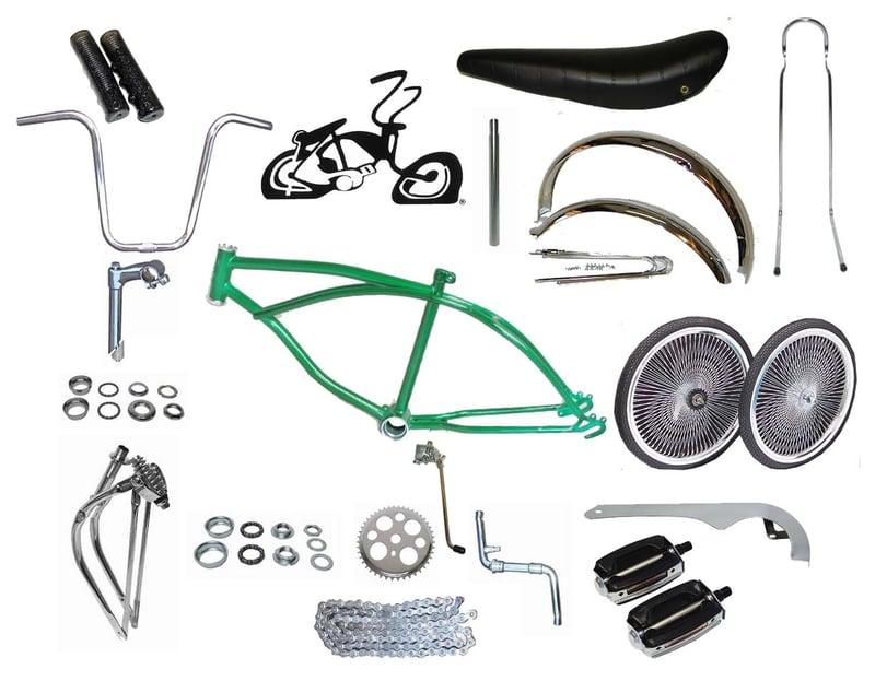 """Black Flat Twisted Lowrider Bicycle Handlebar 15/"""" Cruiser Chopper Bike Trike"""