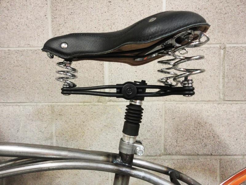 Suspenion Cruiser Bicycle Seat