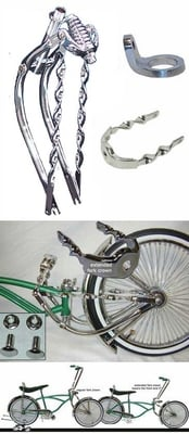 Lowrider Bike Extended Fork Kit 6