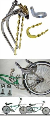 Lowrider Bike Extended Fork Kit 4