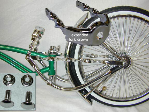 Springer Fork Extended Fork Crown
